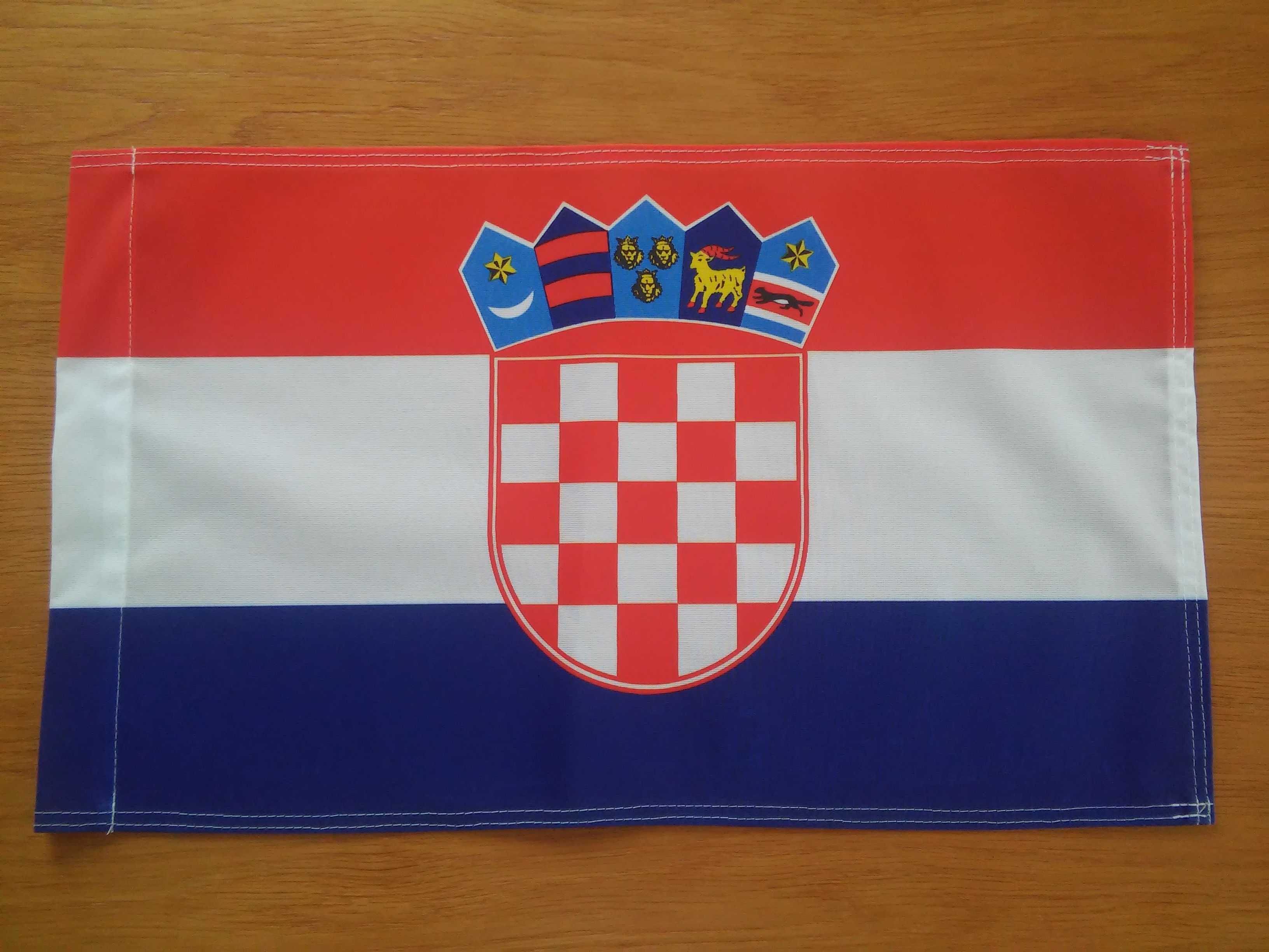 Chorvatsko vlajka 30x45 cm
