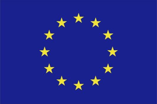 Vlajka EU vodorovná